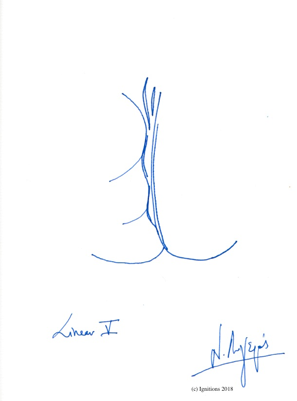 Linear V. (Dessin)