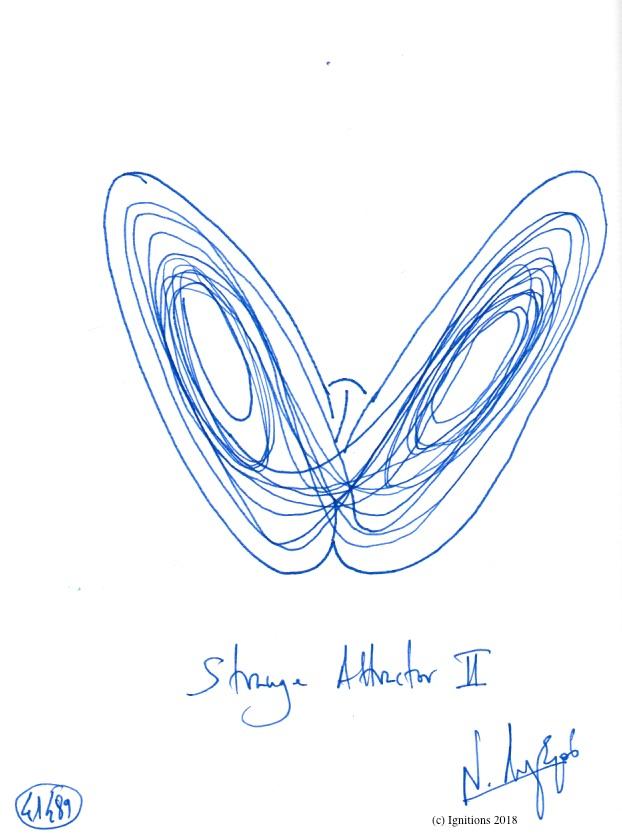 Strange Attractor II. (Dessin)