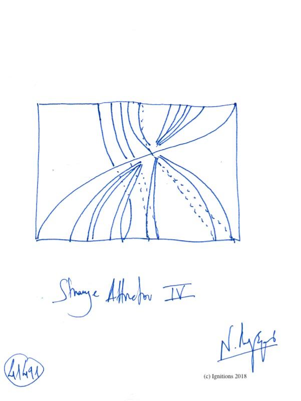 Strange Attractor IV. (Dessin)
