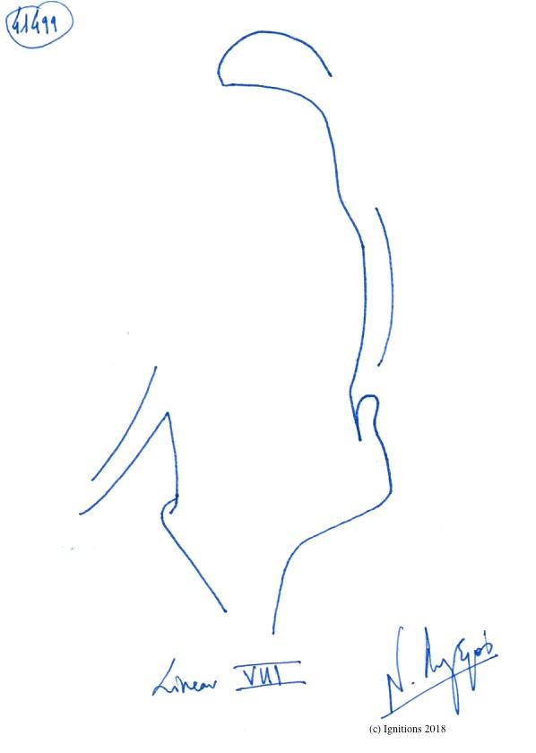 Linear VIII. (Dessin)