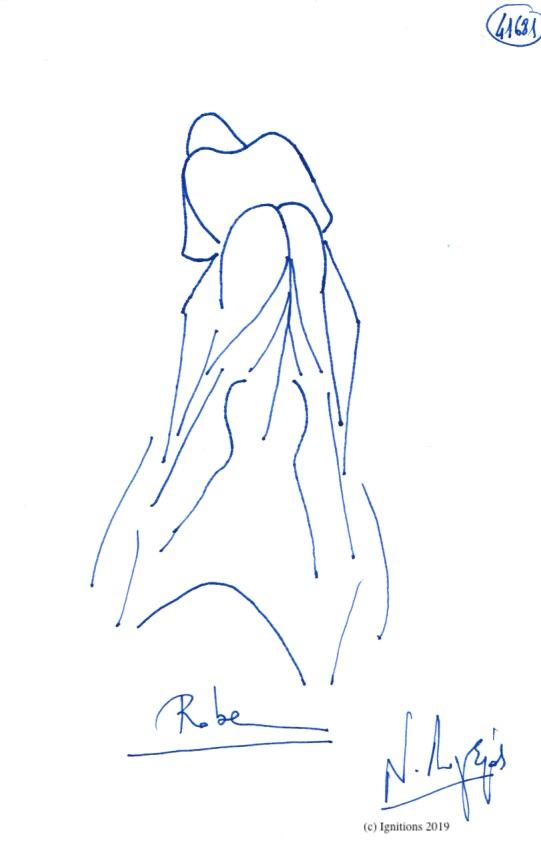 Robe. (Dessin)