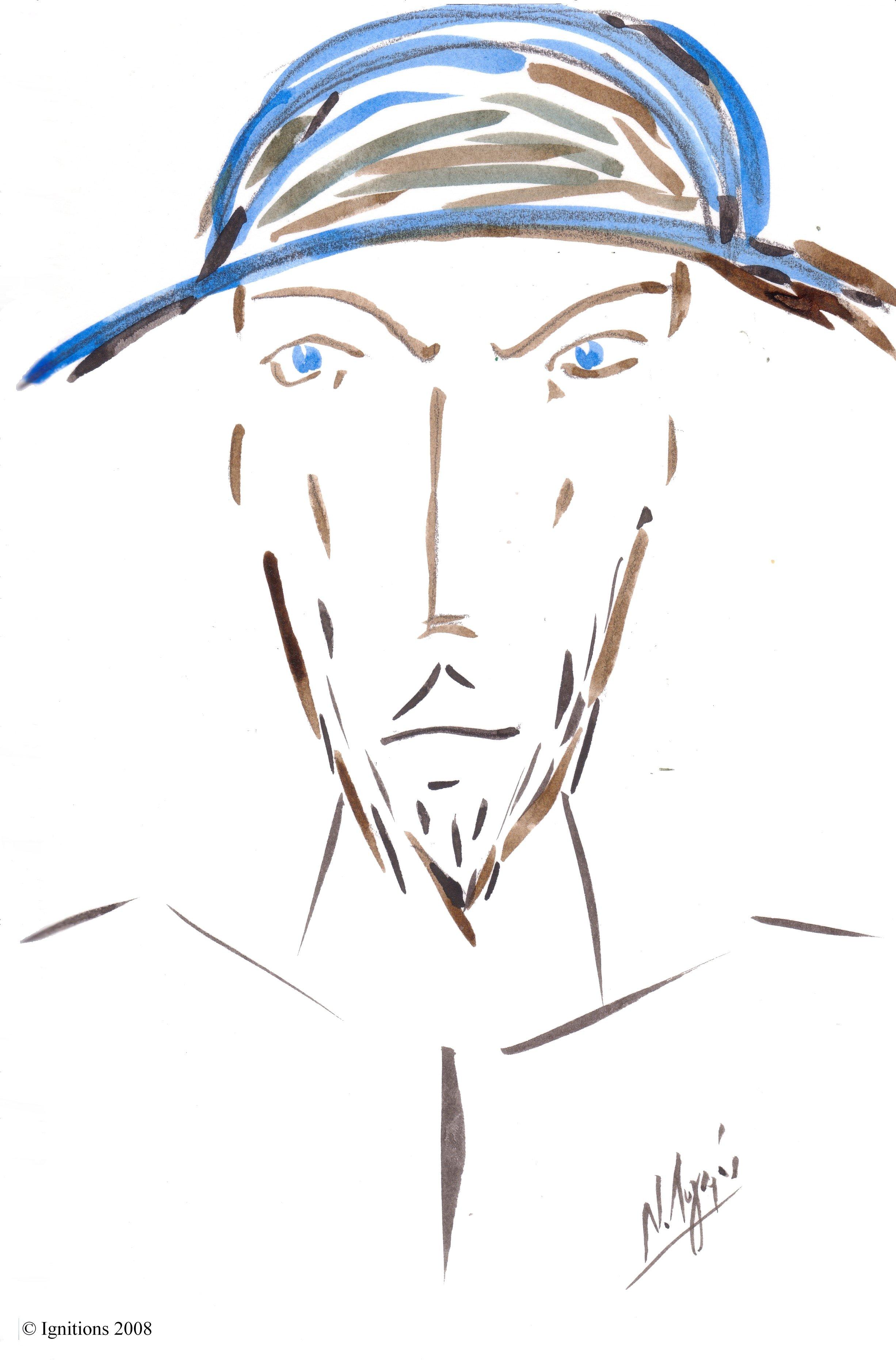Don Quichotte jeune.