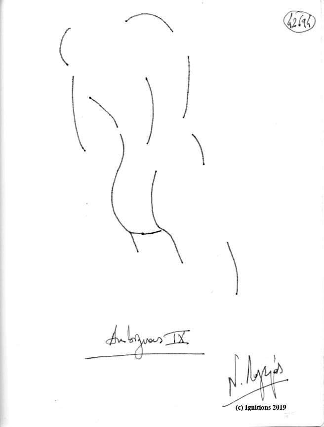 Ambiguous IX. (Dessin).