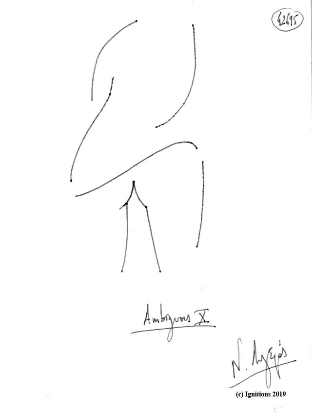 Ambiguous X. (Dessin).