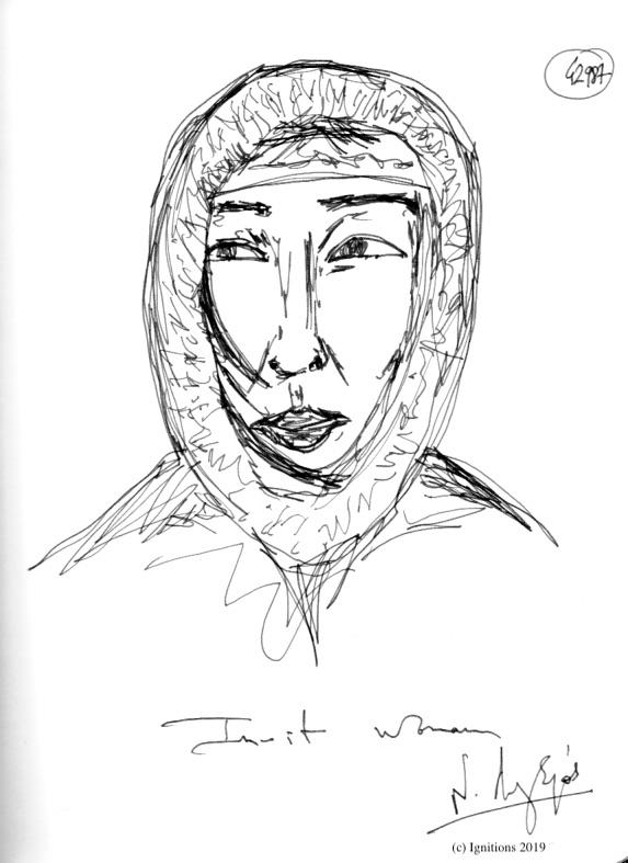 Inuit women. (Dessin)