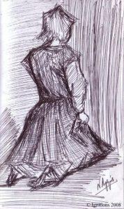La jeune fille agenouillée de Vincent.