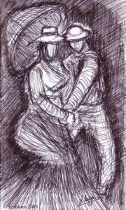 Deux amoureux de Vincent.