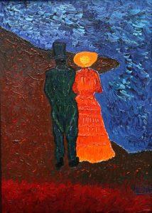 Sur le rivage, aux côtés du couple de Vincent.