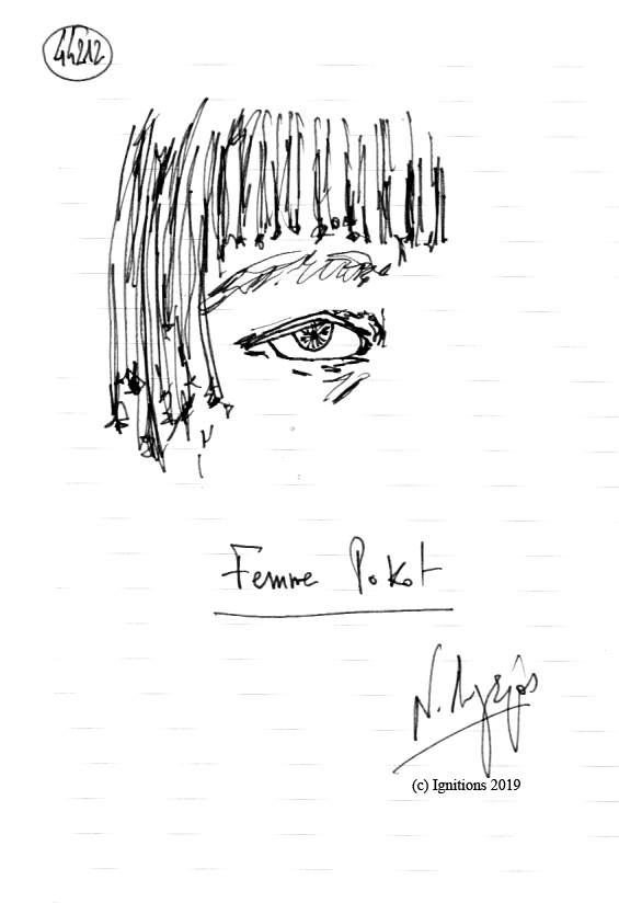 Femme Pokot. (Dessin)