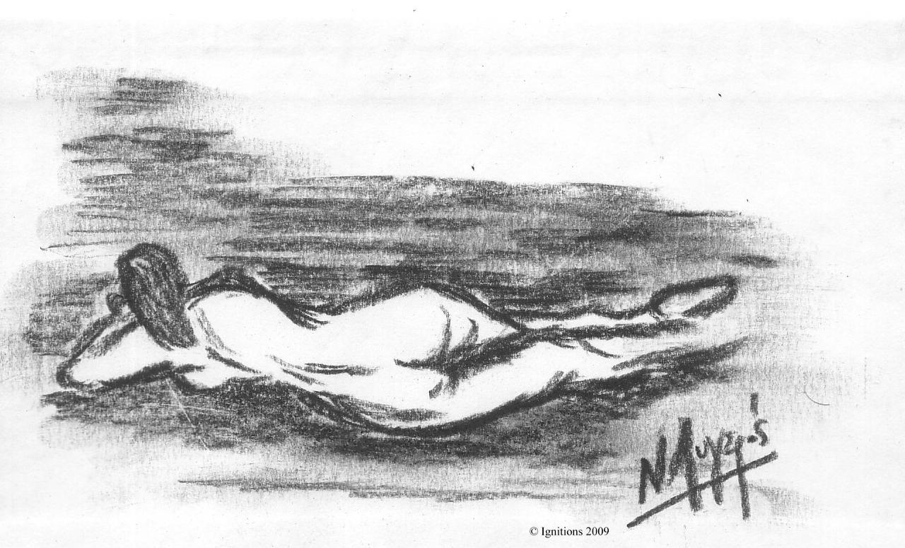 Femme allongée de Vincent.