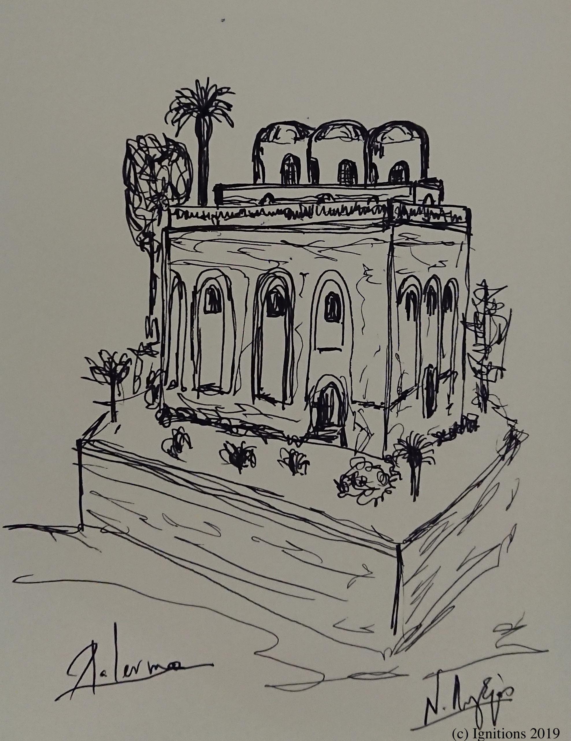 Palermo. (Dessin)