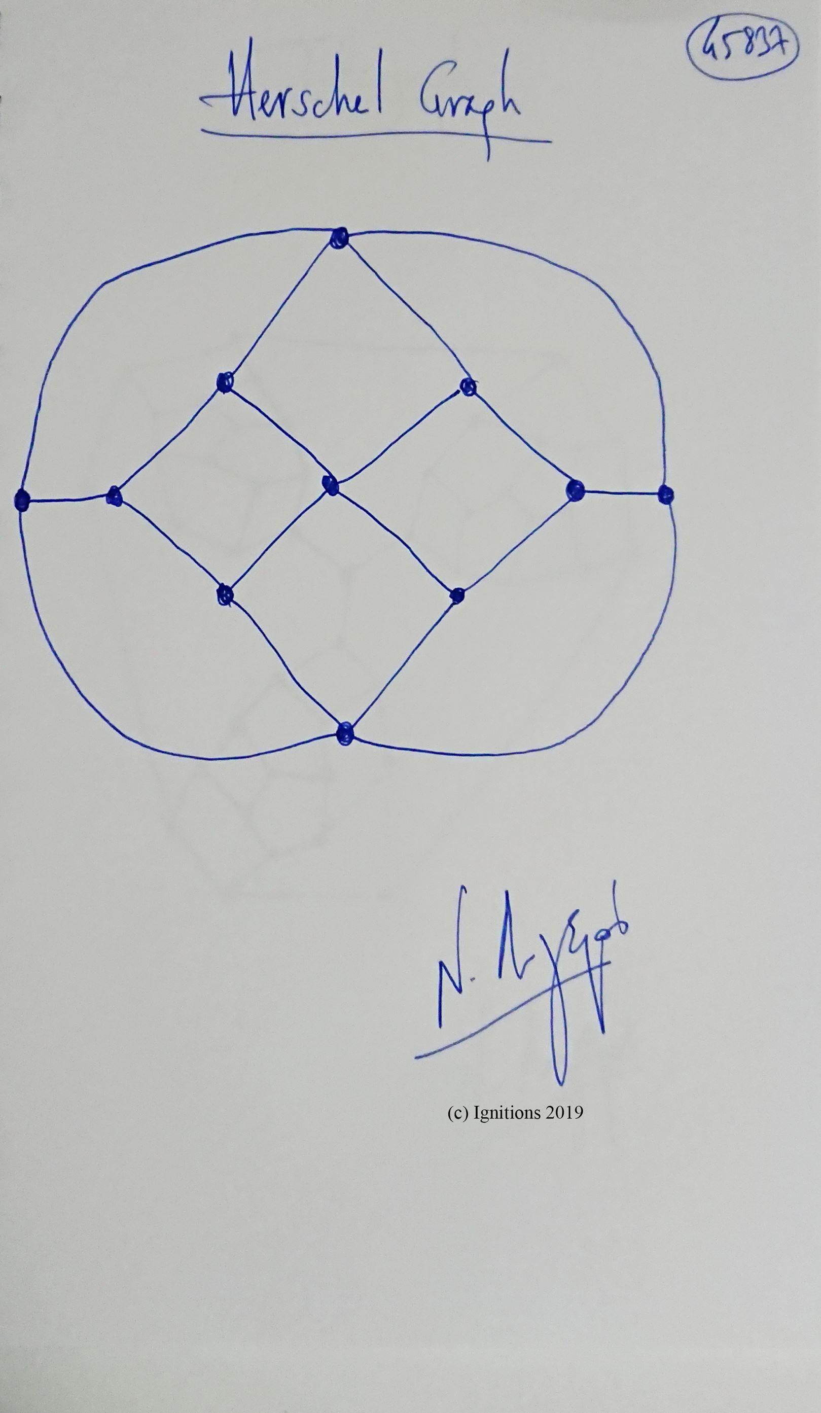 Herschel Graph. (Dessin)