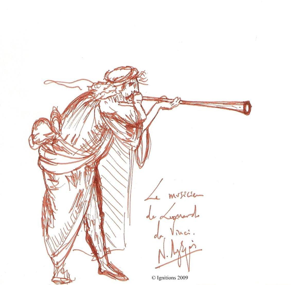 Le musicien de Leonardo da Vinci.