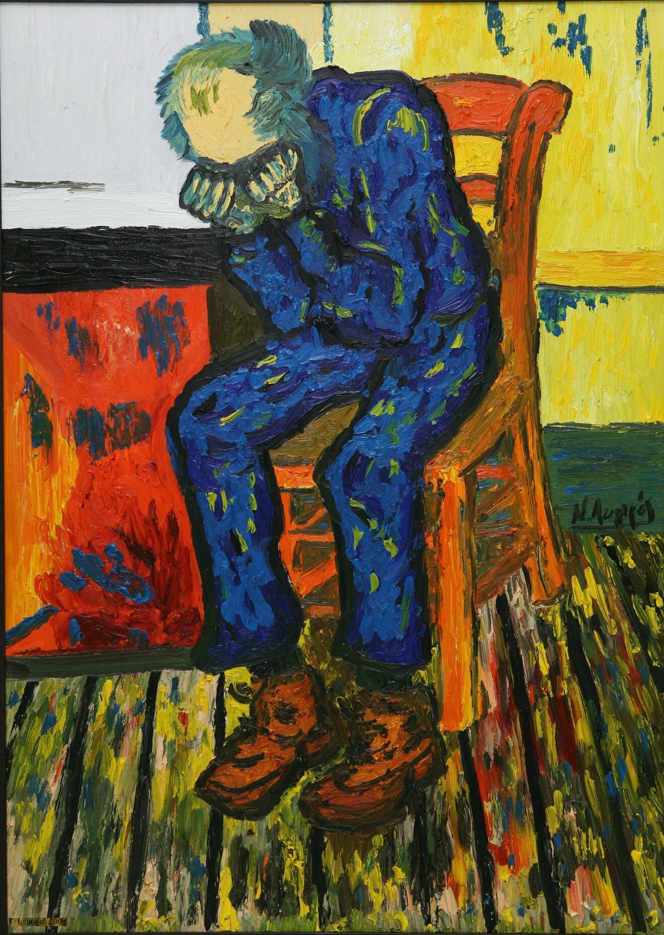Le vieil Homme triste de Vincent.