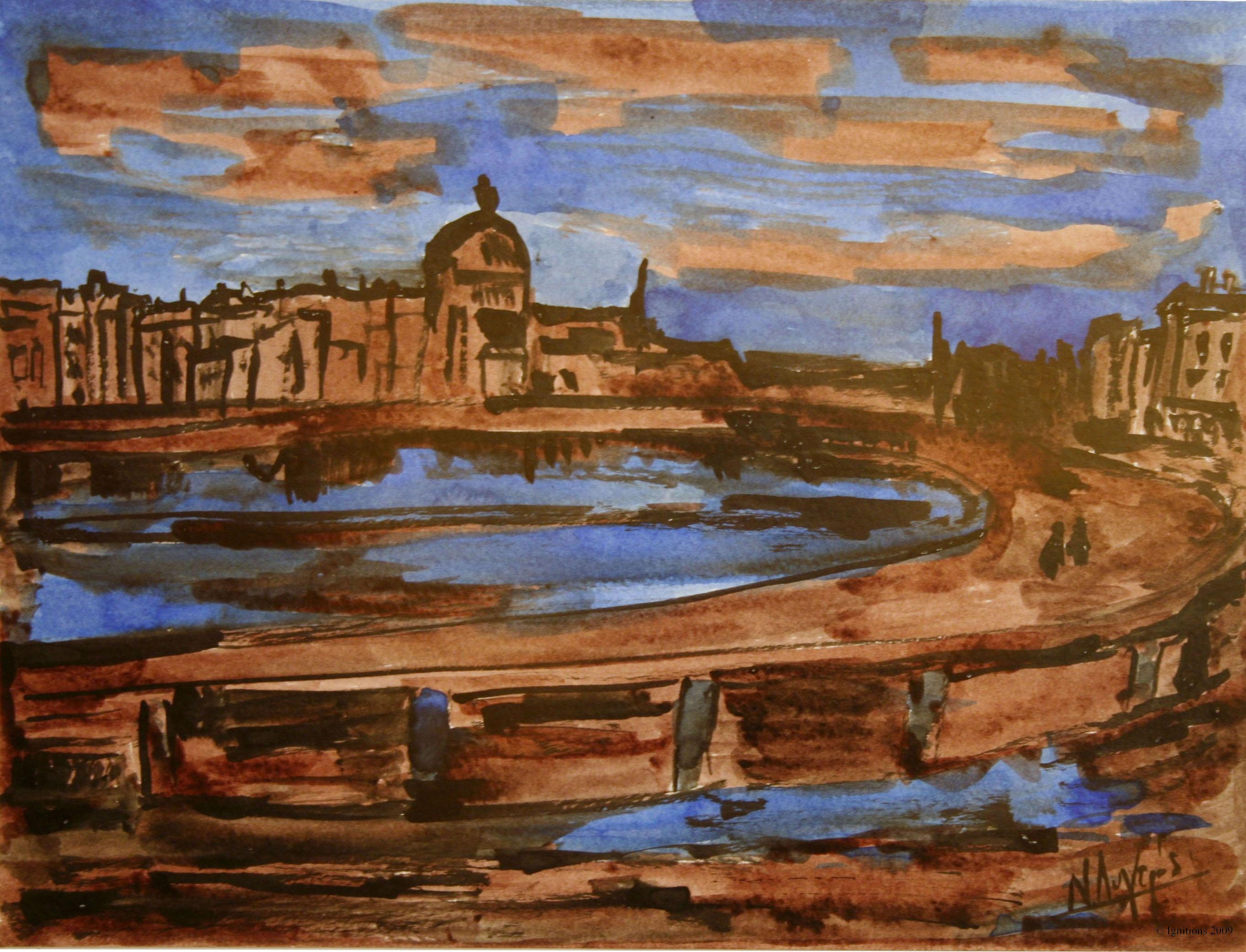 Vue de l'Amsterdam de Vincent.