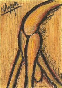 5185 - Danseuse de Rodin.