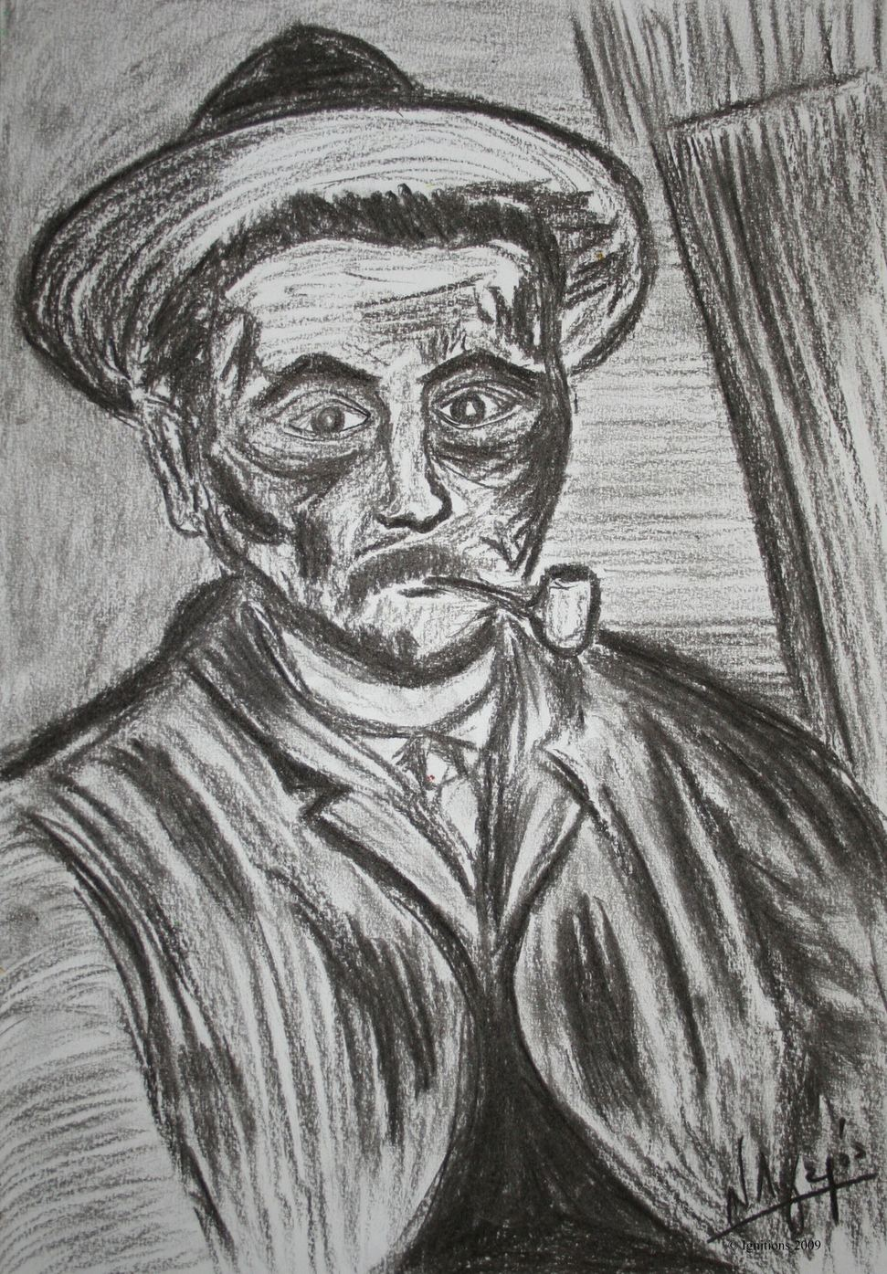 Le fumeur de Vincent.
