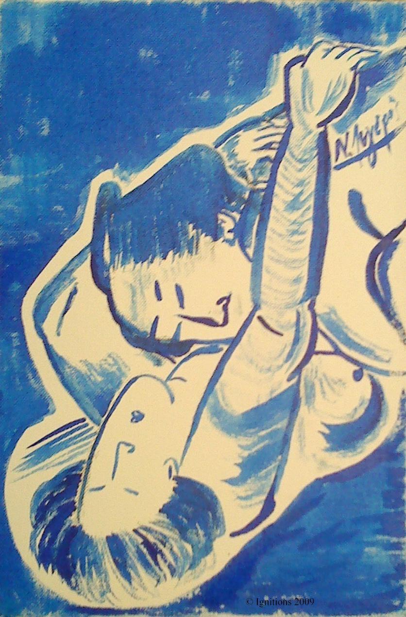 Hommage au Grand maître Katsuhika Hokusai.