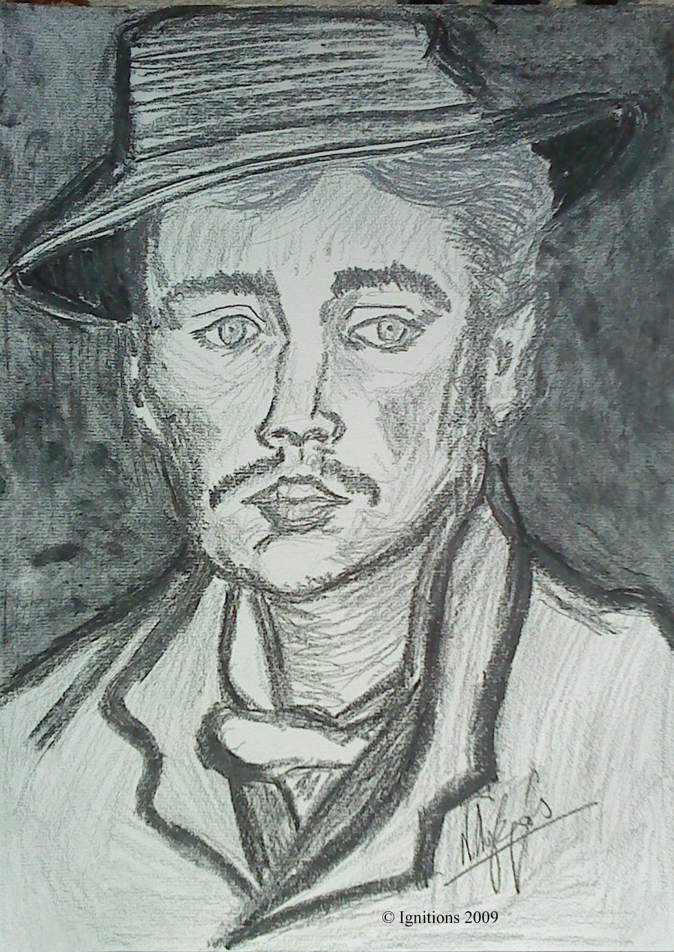 Portrait d'Armand Roulin par Vincent.