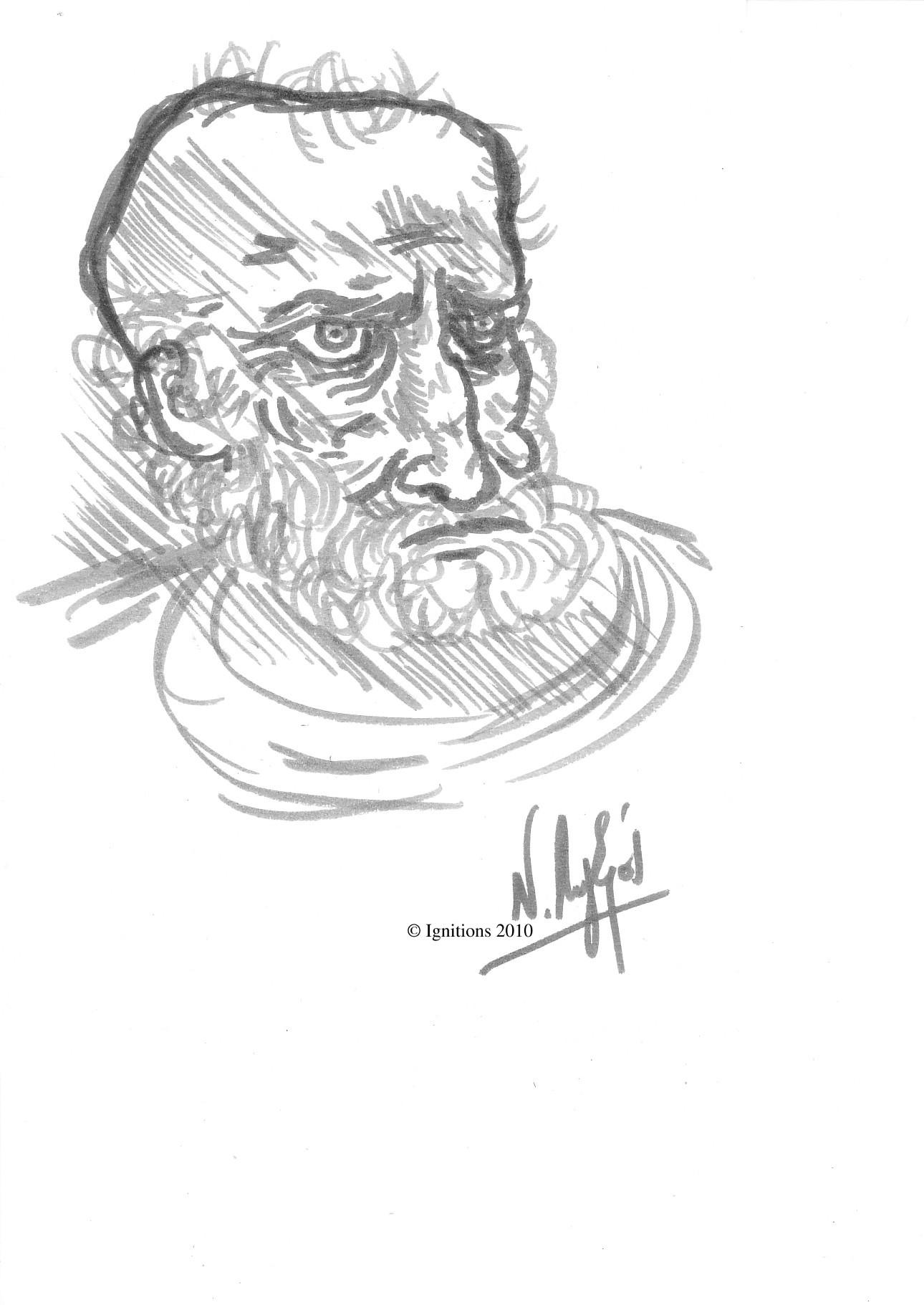 Etude pour Pierre de Leonardo da Vinci.