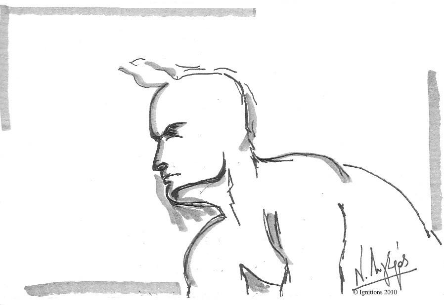 Etude IV de figure de Leonardo da Vinci.