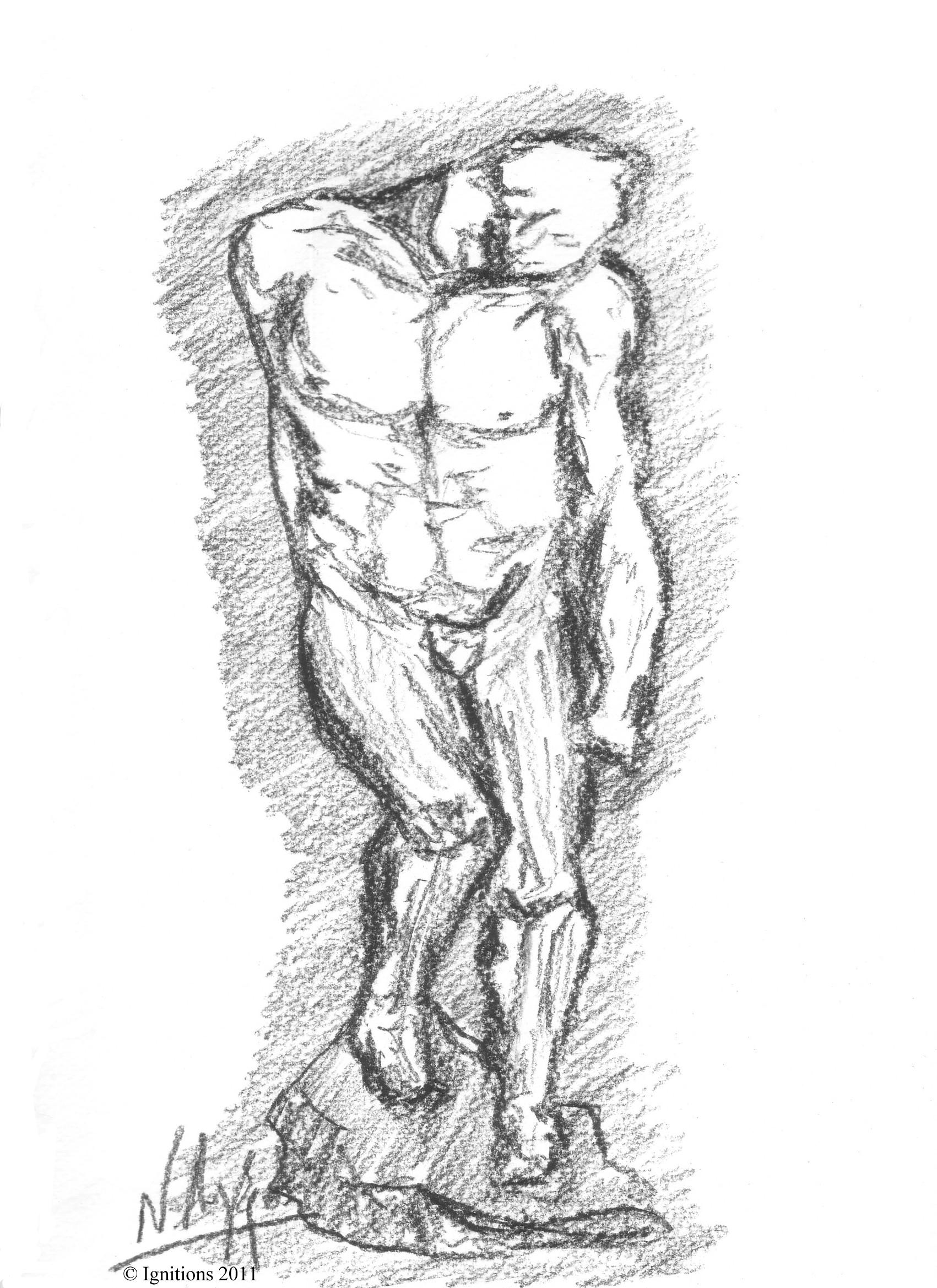 Hommage à Rodin.