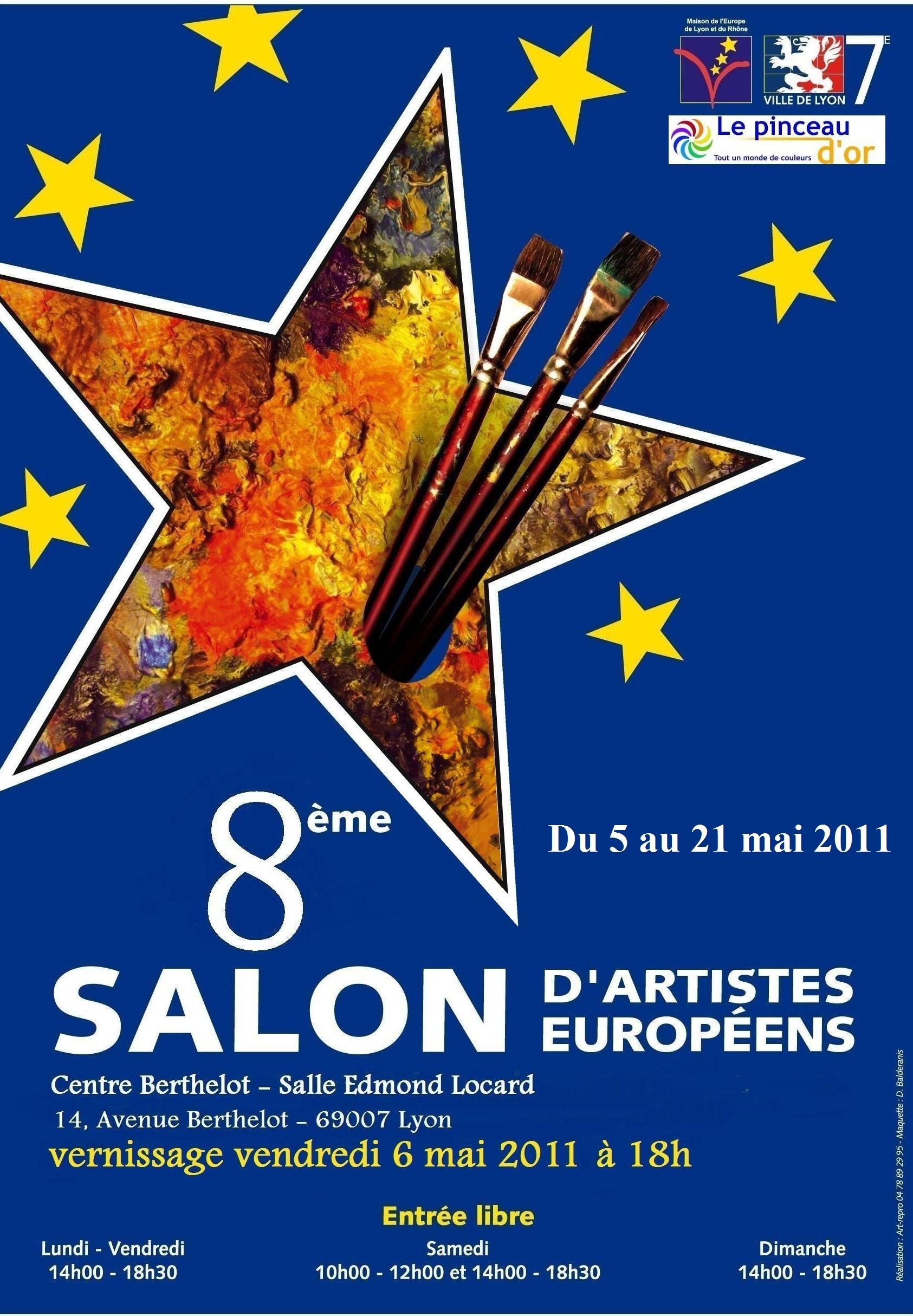 8 ème salon des artistes européens, Lyon