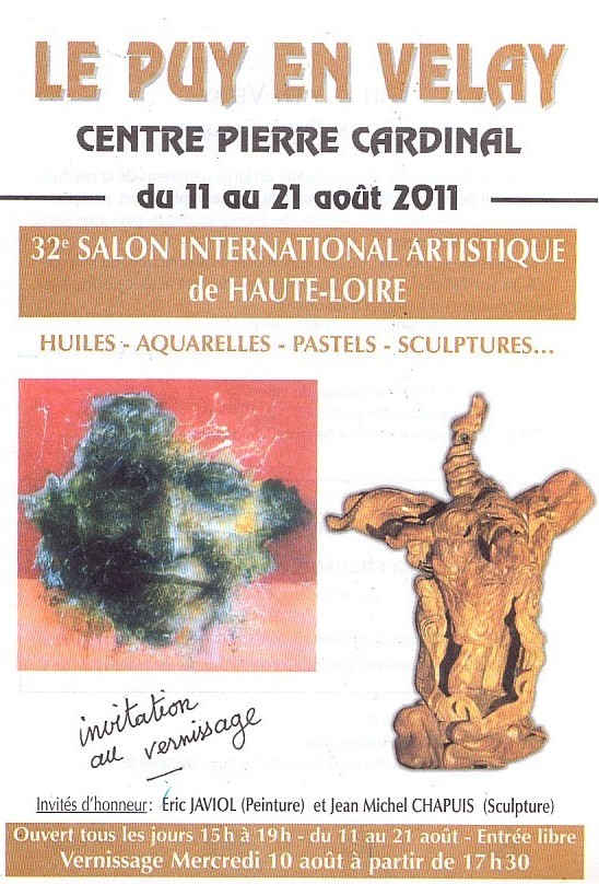 Loire, Le Puy en Velay, 11 au 21/08/2011