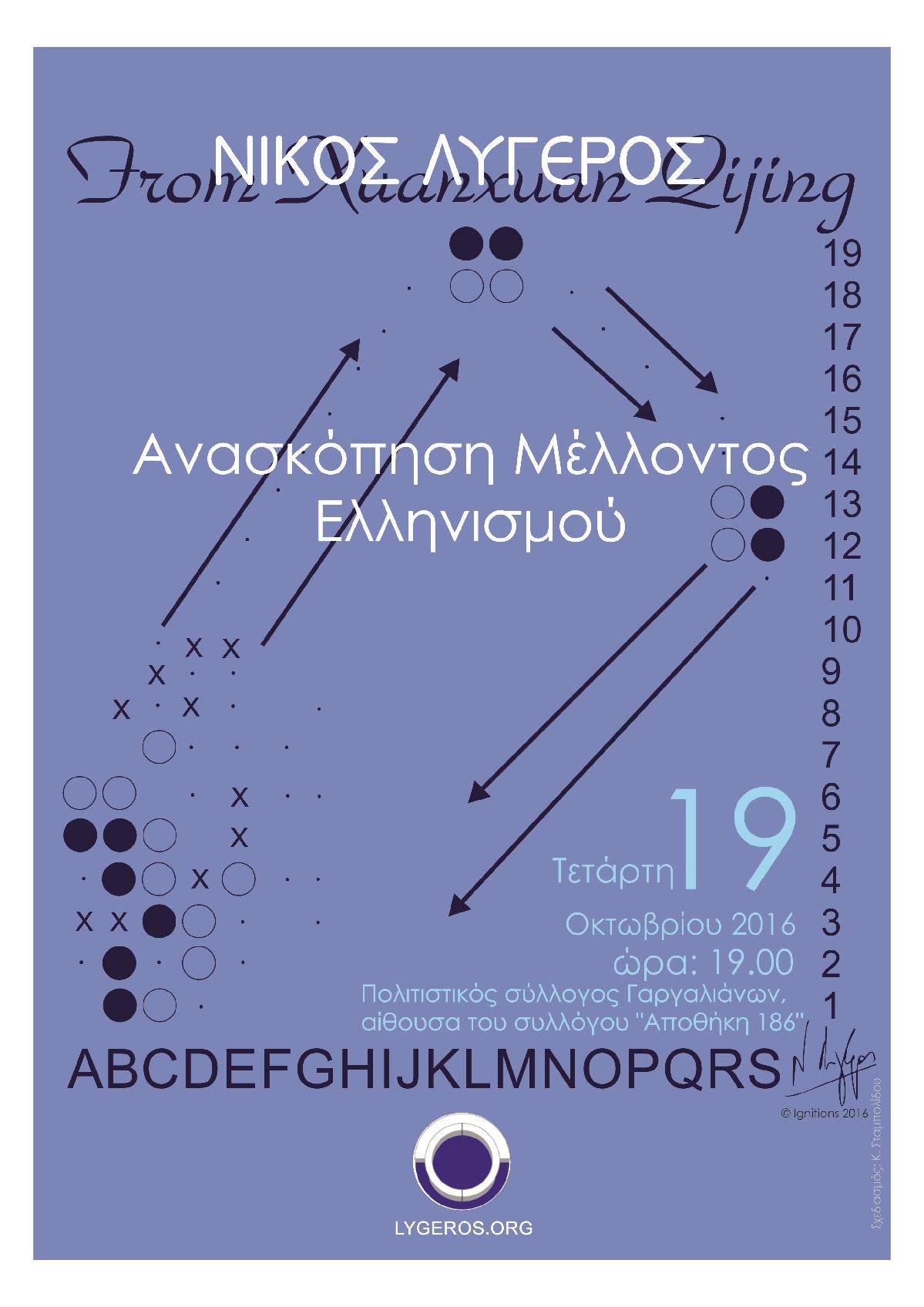 Διάλεξη: Ανασκόπηση Μέλλοντος Ελληνισμού