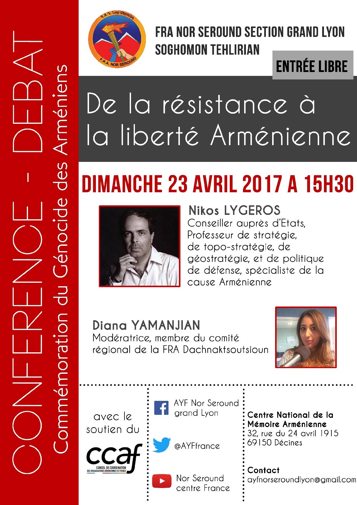 De la résistance à la liberté Arménienne